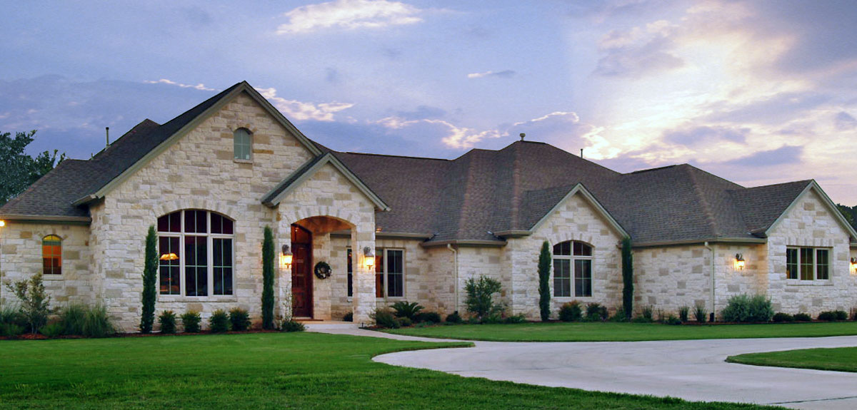Portfolio Of Custom Homes Exterior Pictures Central Texas
