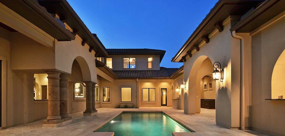 Portfolio of custom homes exterior pictures central texas for Georgetown home